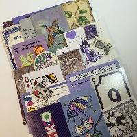EJ: Ephemera ROYGBIV Purple
