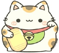 Cat doodle mail art + cat flat surprises