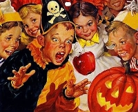 VS - Halloween ATC