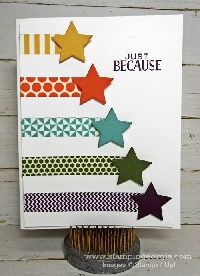 Made w/Washi Notecard #1-US Only, Newbie Friendl