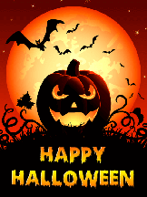 Halloween Greeting Cards - #3 USA only