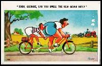 Bicycle/Cycling Postcard Swap