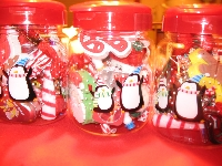 Christmas Whimsy Jar