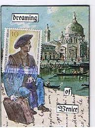 ATC: Used postage stamp