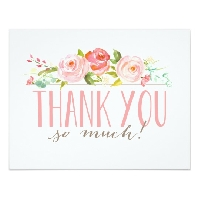 Thank You Cards for Thanksgiving (USA)
