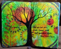 Mini Handmade Art Journal R32