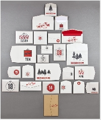 Envelope Flat Items Advent Calendar