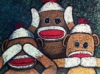 ATC: Sock Monkey