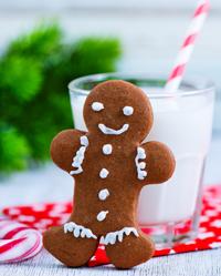 Gingerbread Man/Woman ATC (USA)