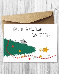 Meowy Christmas Cards