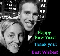 EDITED: New Year Rachel & Travis +1 Partner Card S