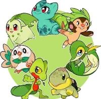 Grass Type Pokemon ATC