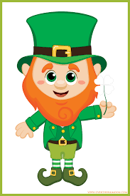 St. Patrick's Day Greeting Card 2 prts - USA New