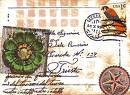 USED POSTAGE STAMPS ATCs