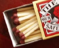 A scene in a matchbox