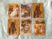 Fairytales Series ATC: Alice in Wonderland