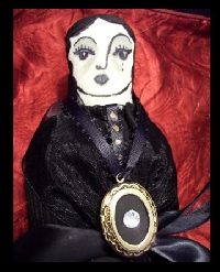 Victorian mourning dolls