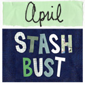 April Stash Bust craft supply swap