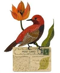 Bird Art Postcard Swap
