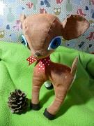 Handmade Whimsical Woodland Softie 1 partner