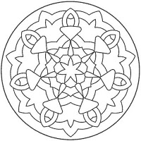 Mandala Coloring (Newbie Friendly)