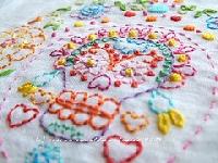 Dia De Los Muertos Sugar Skull HAND embroidery swa