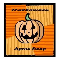 Halloween Apron Swap!