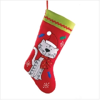 Stuffed Christmas Stocking (International)