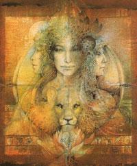 Hello Goddess Card