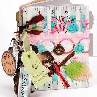 Как сделать личный дневник для девочек из бумаги