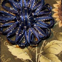 Fabric ATC: Loom Blooms