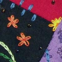 Fabric ATC: Chain Stitch