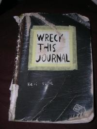 Newbie:  Wreck This Journal