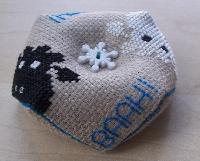 Stitched/Sewn Biscornu