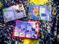 Art Journal Postcard Swap