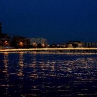 Postcard CITY AT NIGHT #2