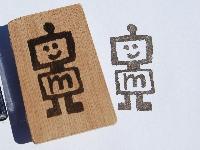 handcarved stamp swap