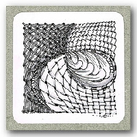 TPD: Zentangle for beginners #1