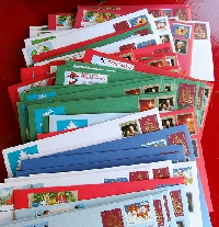 2016 Holiday Cards - 100 Rated US Swappers