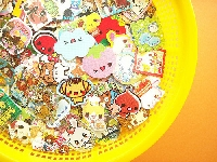Kwik Kawaii: 25 sticker flakes ◦°˚(*❛‿❛)