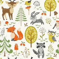 junk journal supplies - woodland