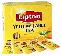 WIYM: tea envelope YELLOW ~ INTL