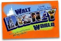 Disney Postcard Swap #6 - USA