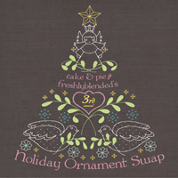 Holiday Ornament Swap presented by cake & pie and
