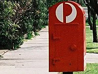 Post Box Photography Postcard #1